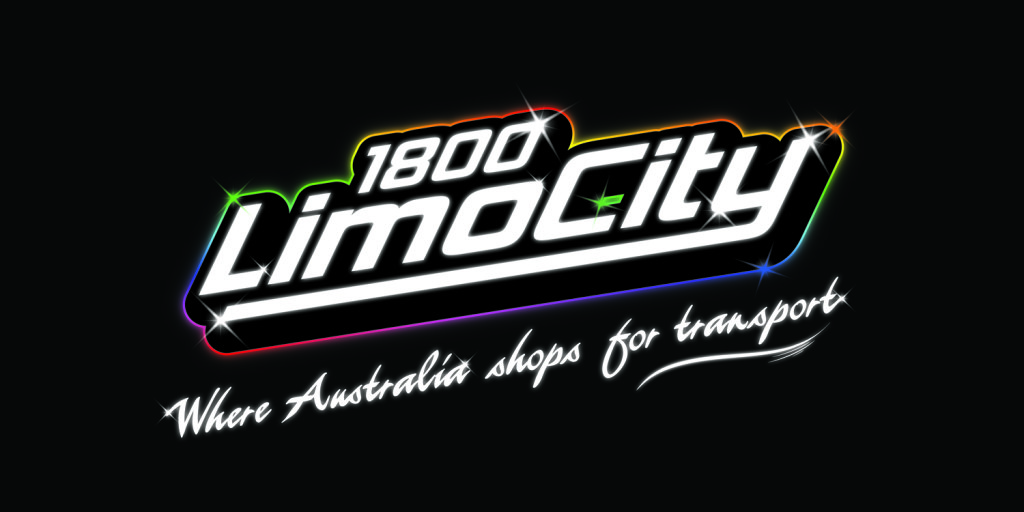 1800 limo city logo for weddings in Melbourne