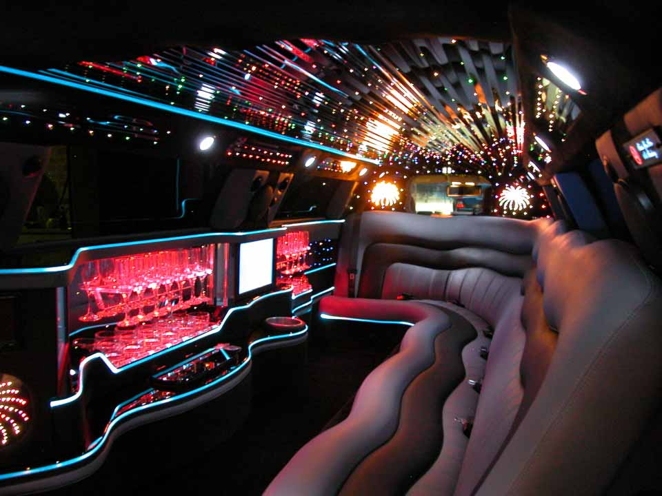 limo interior casino